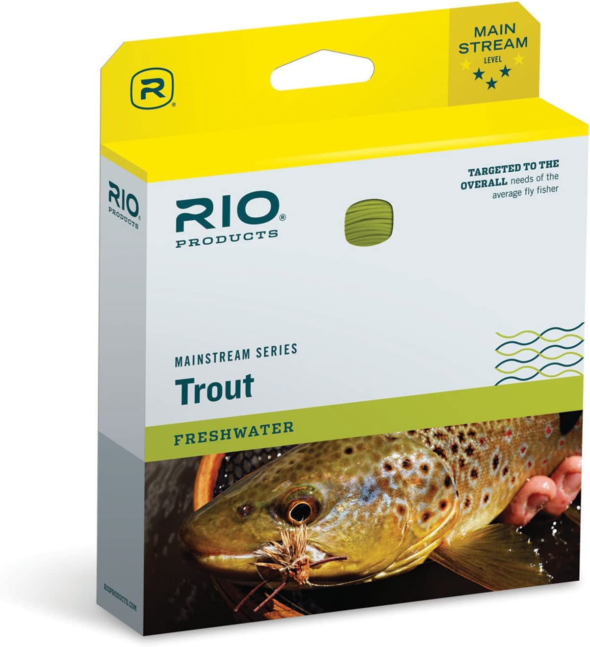RIO Products Mainstream Line Challenge Don't miss the campaign the lowest price of Japan ☆ Trout Fly