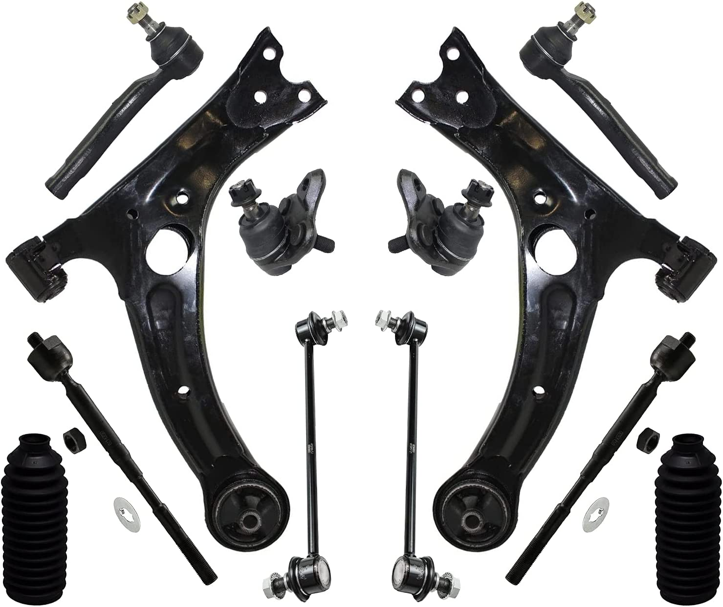 Detroit Axle - Front Lower Control Sway Over item handling ☆ Arms Bar Joints Ball + Fees free