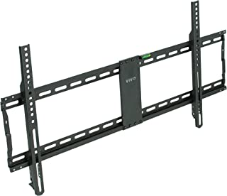 VIVO Ultra Heavy Duty TV Wall Mount for 43 to 90 inch Screens | Large Fixed Mount, Fits up to 800x400mm VESA (MOUNT-VW090F)