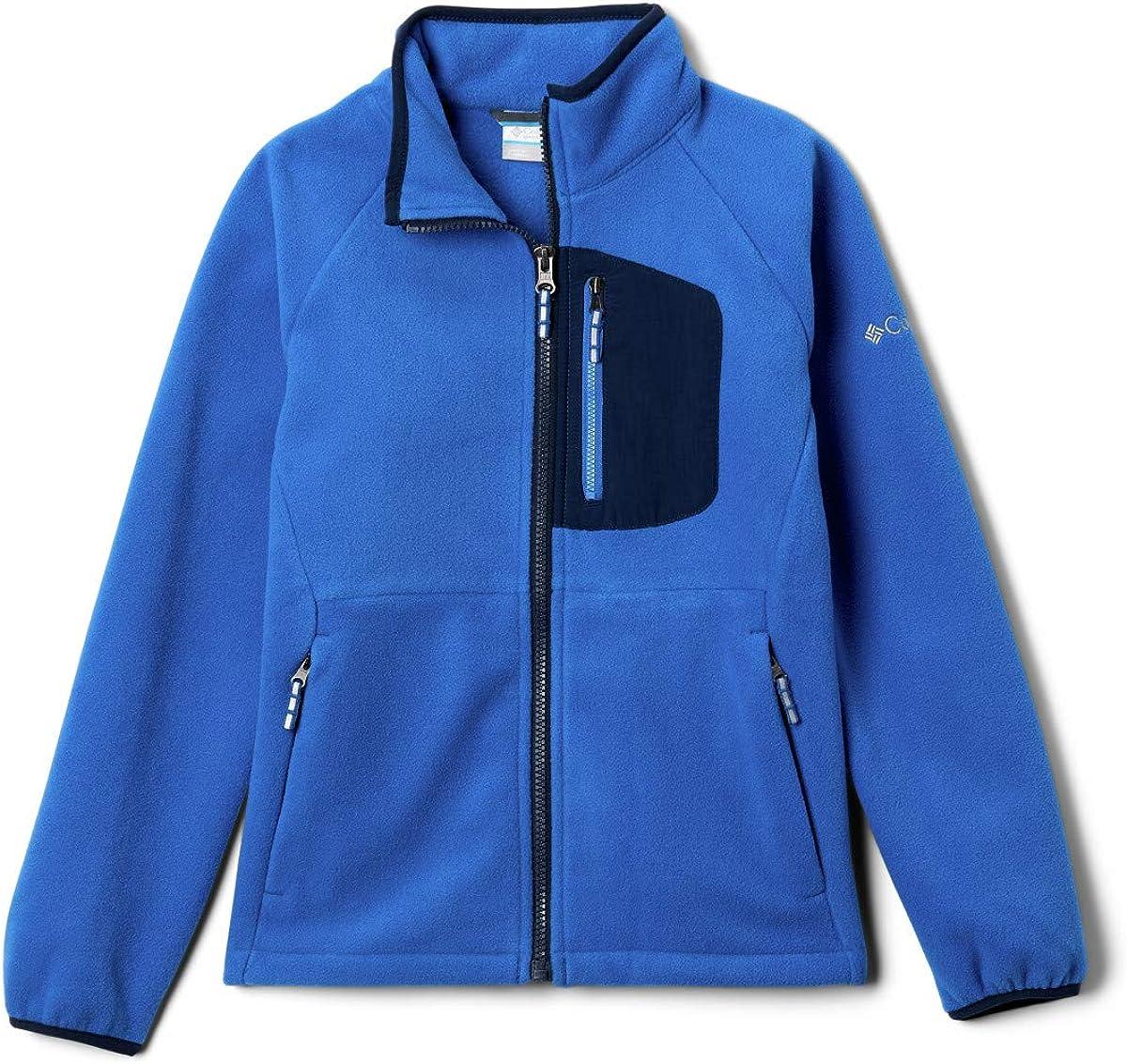Denver Mall Columbia Kids' Fast Trek Iii Zip Full Jacket Fleece 25% OFF