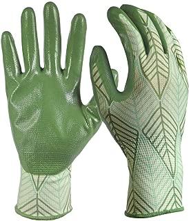 Digz Women's Medium/Large Nitrile Coated Gloves (3-Pack)