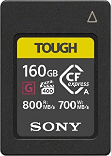Sony 索尼 CFexpress Type A存储卡 兼容CEA-G160T TOUGH 160GB ILCE-1