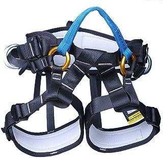 HPDOE Arnes Escalada, Kit de protección contra caídas del cinturón de Seguridad para montañismo, demolición, Rescate con Fuego, Trabajos aéreos, Cuesta Abajo,Blue