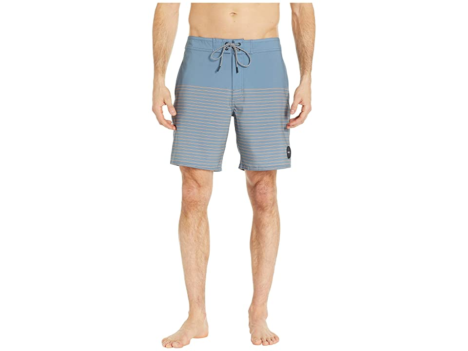 RVCA Curren Caples 18 Trunk (Blue Slate) Men