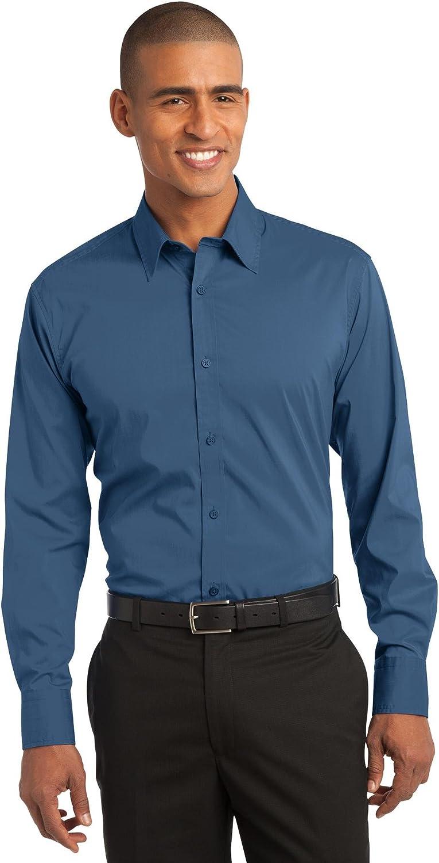 S646 Port Authority Stretch Poplin Shirt