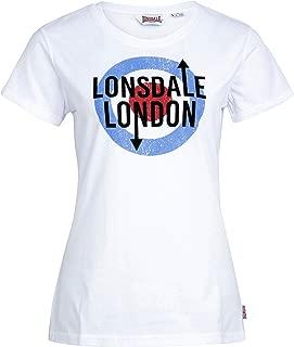 Womens Ladies White Target T-Shirt 100% Cotton