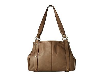 Hobo Pinion (Cobblestone) Satchel Handbags