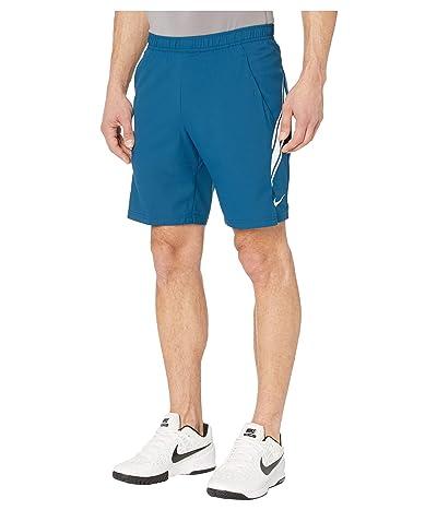 Nike NikeCourt Dry Shorts 9 (Valerian Blue/White/White) Men