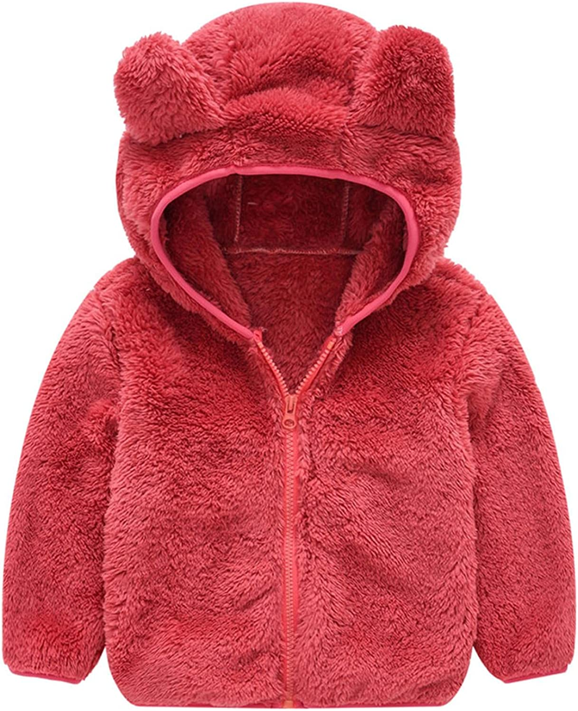 Toddler Hooded Jacket Girl Boy Warm Max 69% OFF Winter Outwea NEW before selling ☆ Sweatshirt Top