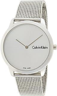 Calvin Klein Men's Quartz Watch, Analog Display and Stainless Steel Strap K3M211Y6