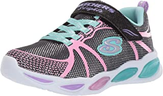 Skechers Kids' Shimmer Beams-Sporty Glow Sneaker