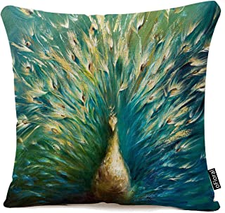 Best peacock pillow covers Reviews