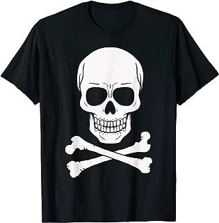 Human Skull Crossed Bones T-Shirt