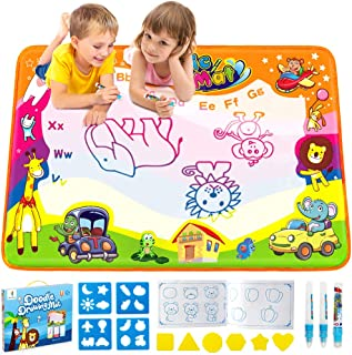 Betheaces Water Drawing Mat Aqua Magic Doodle Kids Toys Mess Free Coloring Painting..
