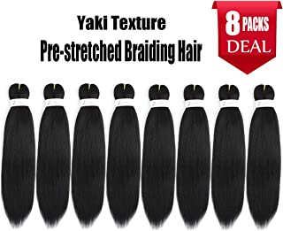 Best pre stretched braiding hair canada Reviews