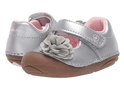 Stride Rite SM Aria (Infant/Toddler) (Silver) Girls Shoes