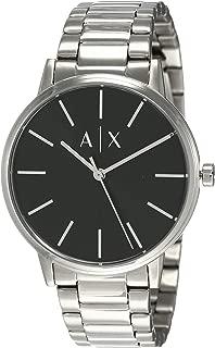 Armani Exchange Men's AX2700 Analog Quartz Silver Watch