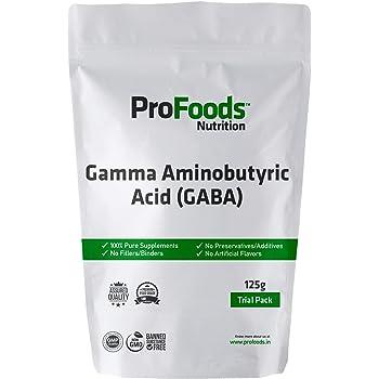 Profoods Gamma Aminobutyric Acid (GABA) Powder (125 grams)
