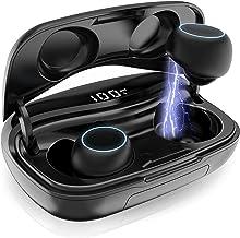 Wireless Earbuds, Bluetooth 5.0 Wireless Headphones Wireless Earphones Smart Touch with Wireless Charging Case IPX7 Waterp...