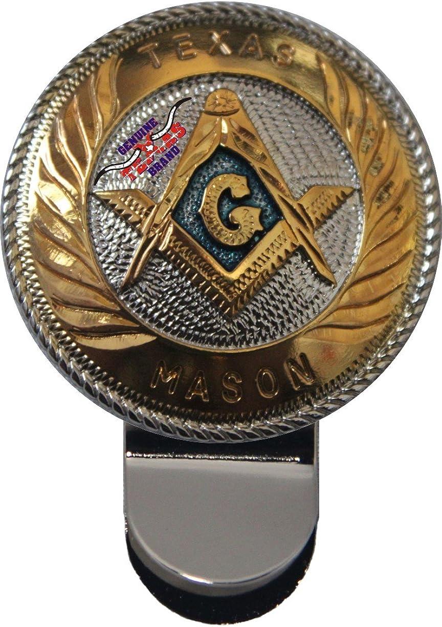 Large Texas Mason Money Clip 1 3/4