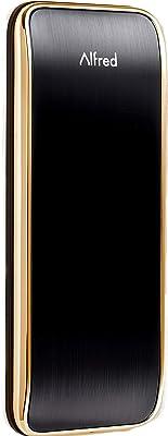 Alfred DB2 Smart Door Lock Deadbolt Touchscreen Keypad, Pin Code + Bluetooth, Up to 20 Pin Codes (Gold)