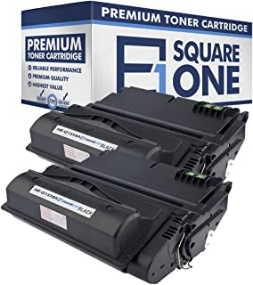 eSquareOne Compatible Toner Cartridge Replacement for HP 38A Q1338A | 42A Q5942A (Black, 2-Pack)