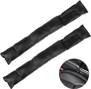 Jubaopen 2 PCS Autostoel Gap Filler Pad, Lederen Autostoel Slot Plug Pad Lekvrij Beschermend Soft Autostoel Gap Filler Pad...