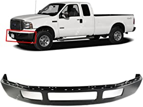 MBI AUTO - Primered, Steel Front Bumper Facebar for 2005 2006 2007 Ford F250 & F350 Super Duty w/Out Flares 05 06 07, FO1002393