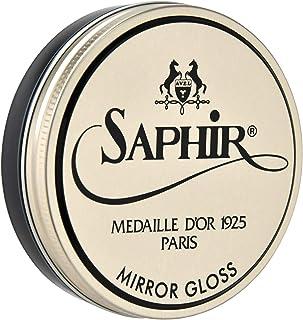 [サフィールノワール] ワックス ミラーグロス 75ml ハイシャイン シューポリッシュ 鏡面磨き 靴磨き 光沢