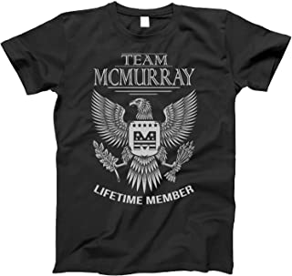 Team McMurray Lifetime Member Family Surname T-Shirt for Families with The McMurray Last Name