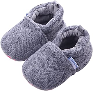Beeliss Baby Girls Loafers Knitted Cirb Shoes