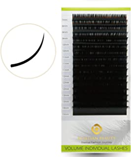 Beyelian Beauty 0.07mm Volume Lashes Mink Eyelash Extensions Individual Semi Permanent Lash Building Mixed Tray 7-15mm(C 0.07mm Mix)