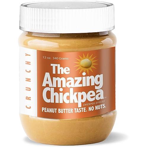 Chickpea Butter Spread - Crunchy (12 Oz)