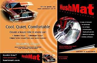 HushMat 10400 Ultra Black Foil Floor Kit with Damping Pad - 20 Piece