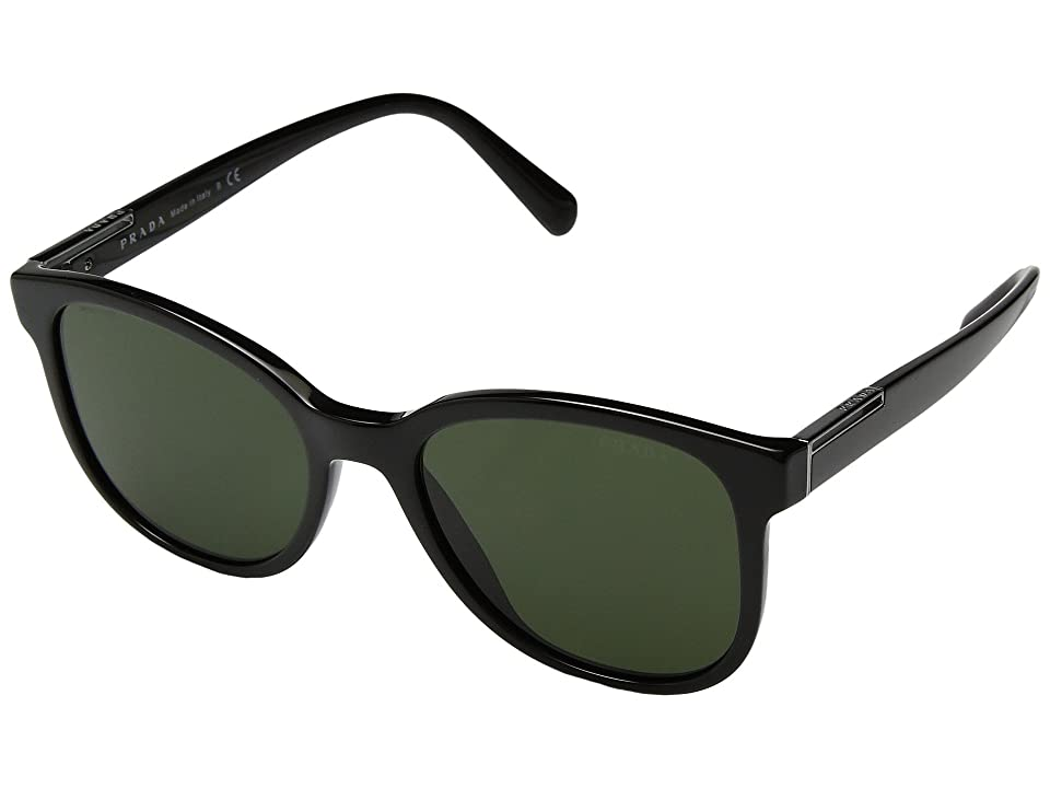 Image of Prada 0PR 08US (Black/Green) Fashion Sunglasses
