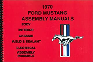 MASSIVE NEW 5 Vol Set 1970 FORD MUSTANG FACTORY PARTS ASSEMBLY MANUAL Covers Base, Convertible, Fastback, Hardtop, Boss, Grande, Mach 1, Shelby GT-350, Shelby GT-500