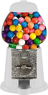 "RMK WORLDWIDE INC TS101 11"" Candy/Gumball Machine, White"