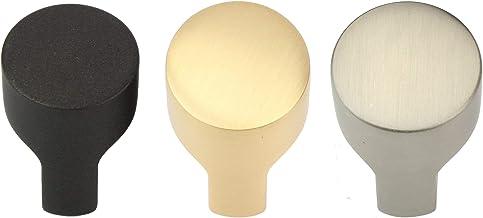 10x Natural Goods Berlin Meubelgrepen KNOP design meubelknoppen metalen meubelknop rond deurkruk kasten, commode, dressoi...