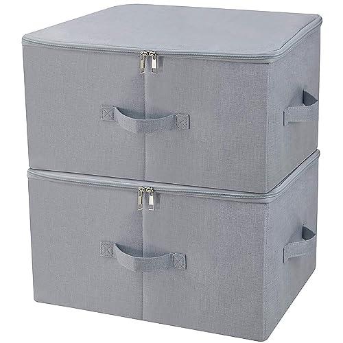 834af50a56d iwill CREATE PRO Boîte de Rangement Pliante Anti-poussière pour Armoire  avec Couvercle à Fermeture