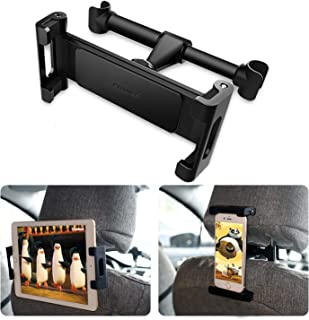 Hållare för bilsurfplatta, POMILE bil nackstöd montering surfplatta med 360° rotation justerbar, stativvagga, kompatibel m...