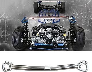 For BMW 3 Series E46 Strut Brace Bar,TCR 2-Point Engine Body Front Strut Tower Brace Bar(Fits:BMW 316 318 320 323 325 328 330 1999-2005)