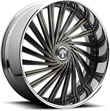 DUB DAZE MB -BLK MACH Wheel with Painted (26 x 12. inches /5 x 120 mm, 5 mm Offset)
