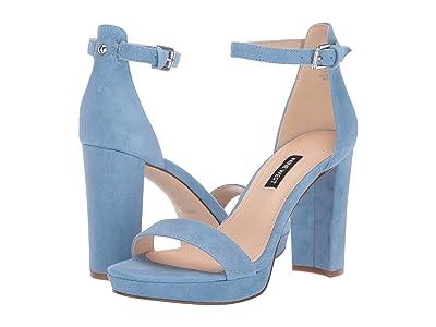Nine West Dempsey Heeled Sandal (Medium Blue) Women