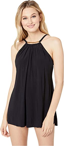 Solid Parker Swimdress One-Piece