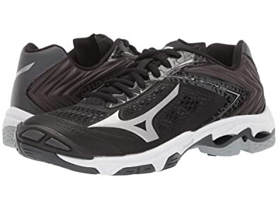 Mizuno Wave Lightning Z5 (Black/Silver) Women