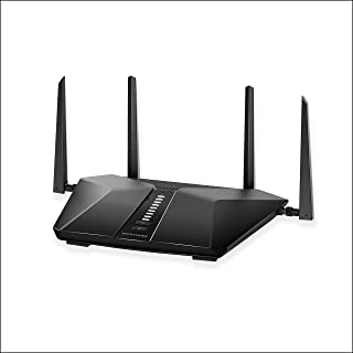 NETGEAR Nighthawk AX6 6-Stream Wi-Fi 6 Router (RAX50) - AX5400 Wireless Speed (up to 5.4Gbps) | Coverage for Medium-to-Lar...