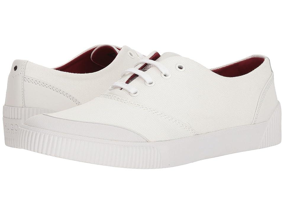 BOSS Hugo Boss Zero Tennis Sneaker By Hugo (White) Men