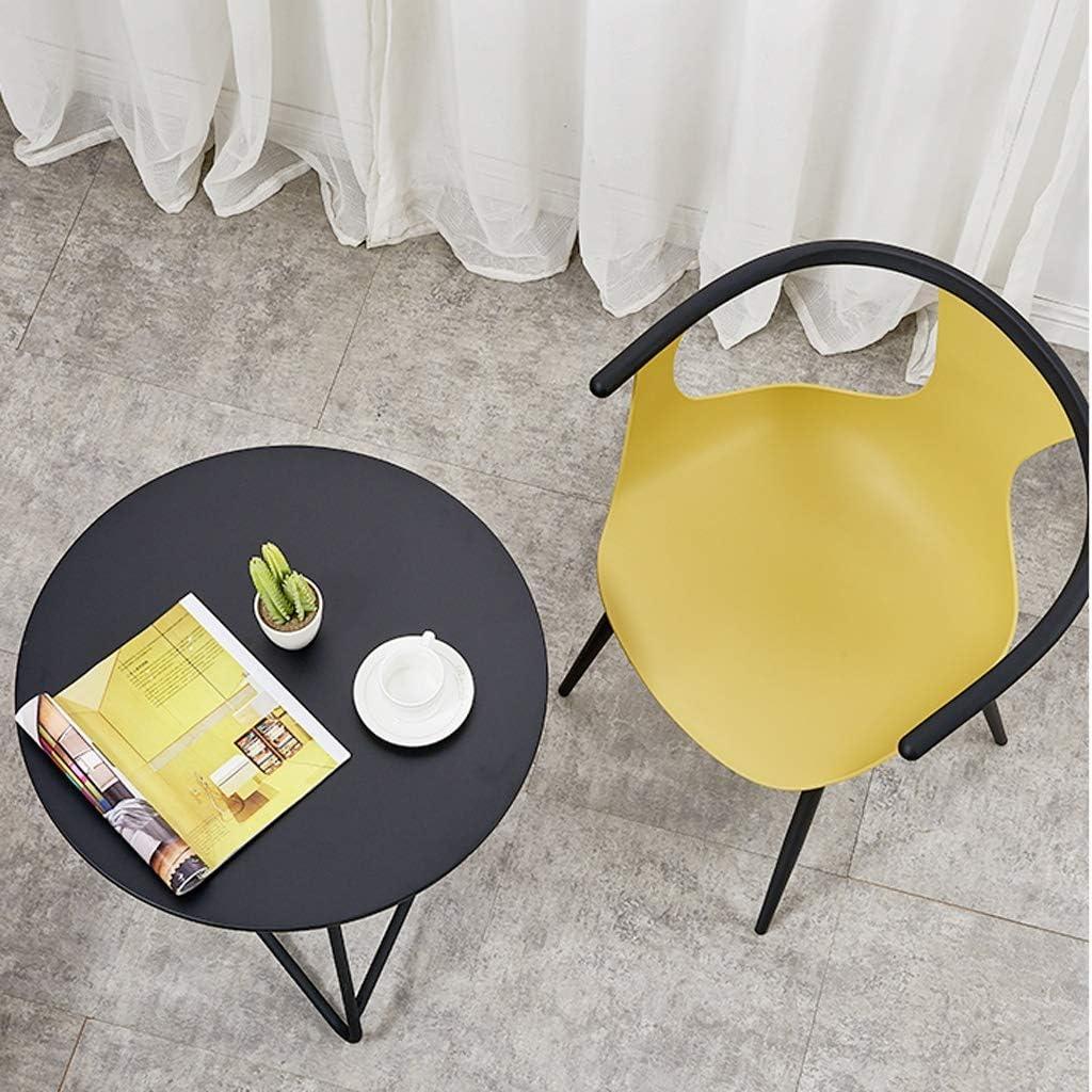 Chaise de salle à manger Pride S, chaise de bureau, dossier créatif, chaise de loisirs, chaise de salle à manger pour adulte, chaise de maison Jaune