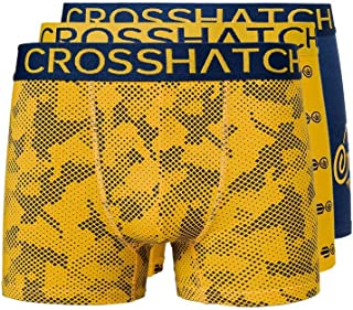 Crosshatch Mens Boxers Shorts (3 Pack) Multipacked Underwear Gift Set Stylefour