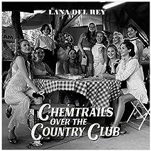 Gesponserte Anzeige – Sängerin Lana Del Rey Chemtrails Over The Country Club Albumcover Leinwand Poster Schlafzimmer Dekor...